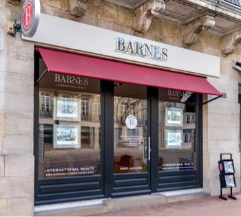 Facade barnes - BARNES Agency, luxury real estate in Bordeaux